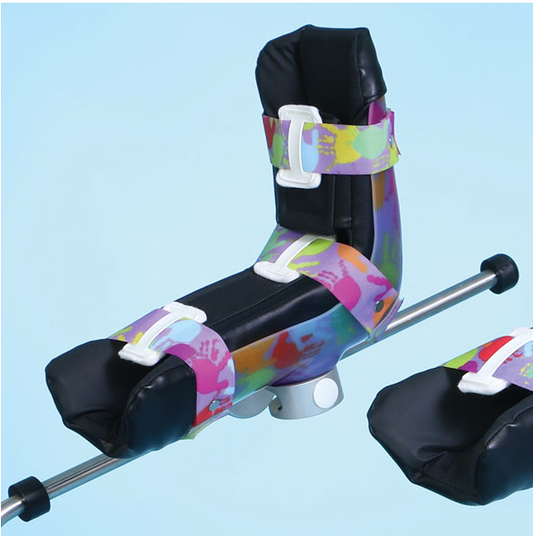 Reusable Pediatric Stirrup Boot Pads